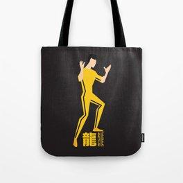 Yellow Jumpsuit Tote Bag