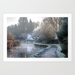 Causeway To The Chequers Art Print