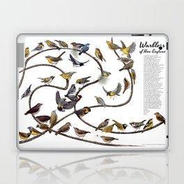 Warblers of New England Laptop & iPad Skin