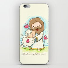 Lord is my shepherd iPhone & iPod Skin