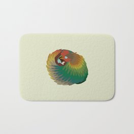 Chicken Dream Bath Mat