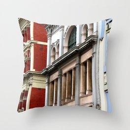 Melbourne Heritage Throw Pillow