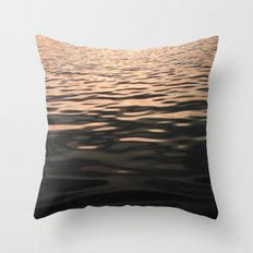 Liquid Sunset Throw Pillow