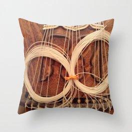 Koto Strings Throw Pillow