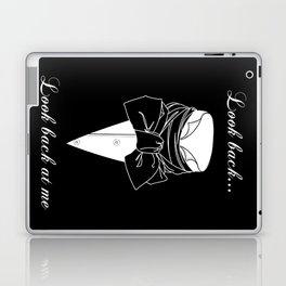 John Thornton : Look back  -white txt- Laptop & iPad Skin