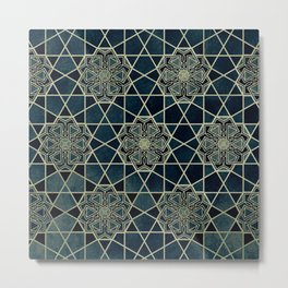 The Heart of the Alhambra Metal Print