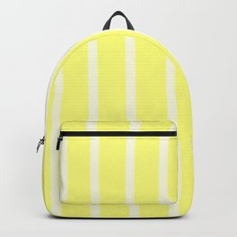 Butter Vertical Brush Strokes Backpack