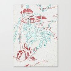 Lava II Canvas Print