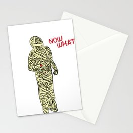 Now What- Abandoned Mummy Stationery Cards