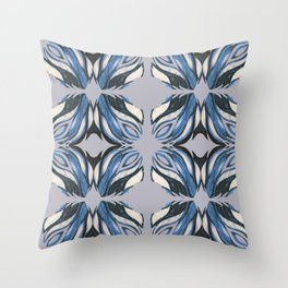 Abstract Wings Throw Pillow