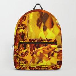 NOVEMBER GOLDEN TOPAZ BIRTHSTONE GEMS Backpack