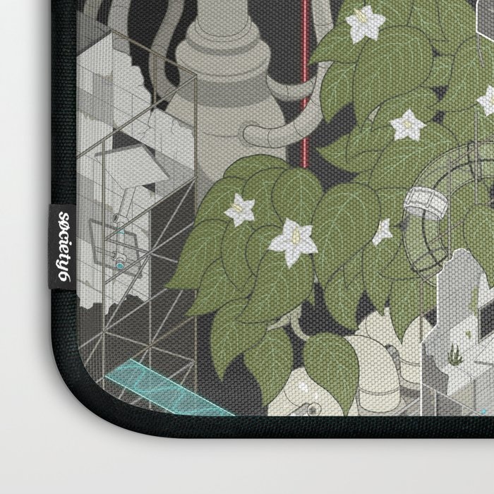 Aperture Science: All science, all the time Laptop Sleeve