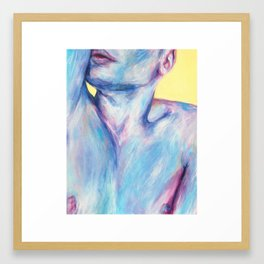 Rubber Band Framed Art Print