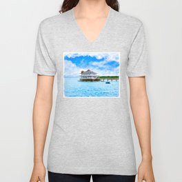 Mobile Yacht Club - Alabama's Historic Gulf Coast Unisex V-Neck