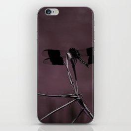 Purple Dragonfly iPhone Skin
