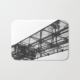 Abstract Architecture Bath Mat