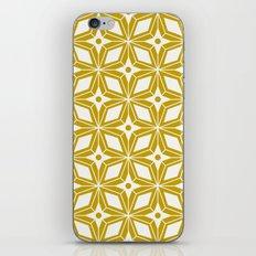 Starburst - Gold iPhone & iPod Skin