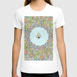 FLOWER POWER BEE T-shirt
