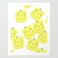 POST IT Art Print