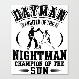 Dayman Canvas Print