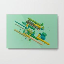 Polymer Sea Metal Print