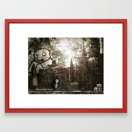 Cathedral on the Tracks  Framed Art Print