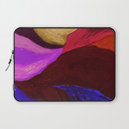 Abstract Leaves by Robert S. Lee Laptop Sleeve
