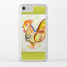 Rooster Clear iPhone Case