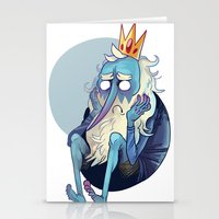 musa Stationery Cards featuring sadking by musa