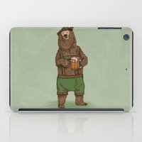 german iPad Cases featuring Traditional German Bear by WanderingBert / David Creighton-Pester