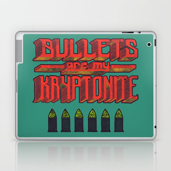 Kryptonite (alternate) Laptop & iPad Skin