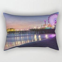 Santa Monica Pier Rectangular Pillow