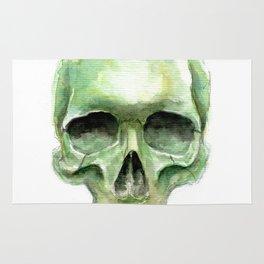 Green Skull Rug