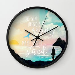 I Make Myself Stand - THG Wall Clock