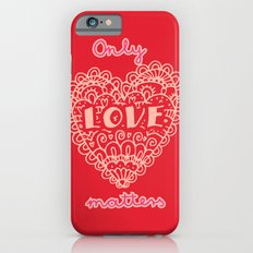 Valentine hearts 3 Slim Case iPhone 6s