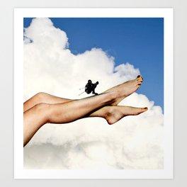 Jump It Art Print