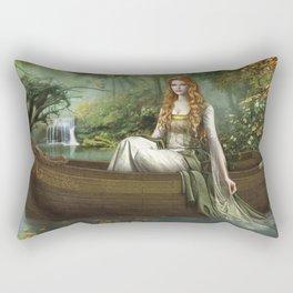 Lady of the Rhine Rectangular Pillow