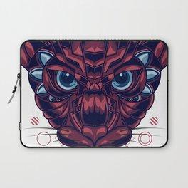 Mythical Cat Sacred Geometry Laptop Sleeve