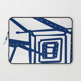 Square path Laptop Sleeve