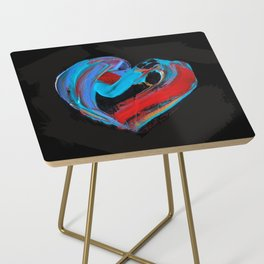 Bold Heart Side Table