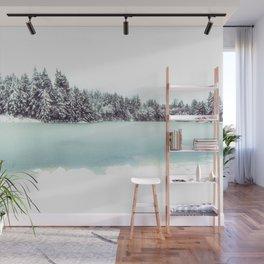 Frozen Lake Wall Mural