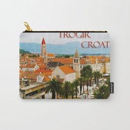 Cityscape of Trogir Croatia Carry-All Pouch