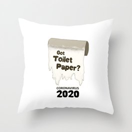 Got Toilet Paper? Throw Pillow