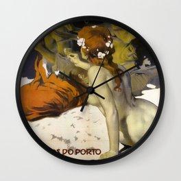 Vintage poster - Aramos Pinto Wall Clock