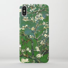 Almond Blossom - Vincent Van Gogh (avocado pastel) iPhone Case