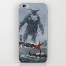 at the edge of the world iPhone & iPod Skin