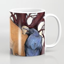 Fox and the Crow Coffee Mug