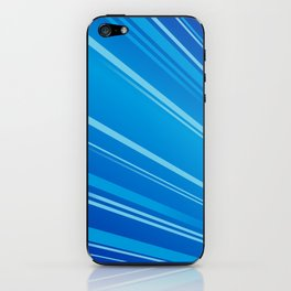 Colour Flash Blue iPhone Skin