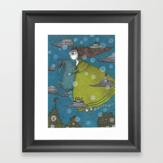 The Sea Voyage Framed Art Print