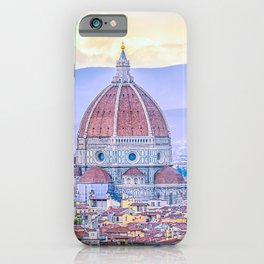 Cathedral of Santa Maria del Fiore  Florence Italy iPhone Case